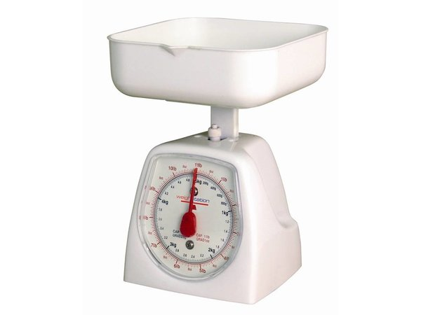 XXLselect Kitchen scale - 5kg - per 25gr