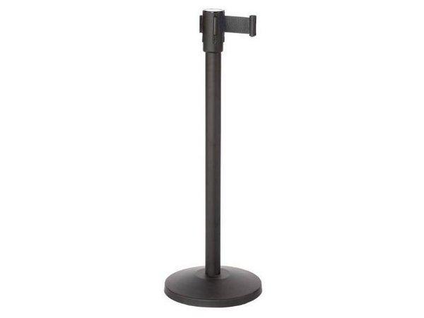 Saro Barrier post Black 9 kg - with black drawstring 180cm