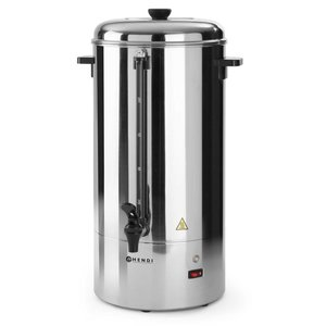 Hendi Single walled stainless steel percolator HENDI | Ø280x (H) 580mm | 100 Cups | 15 Liter