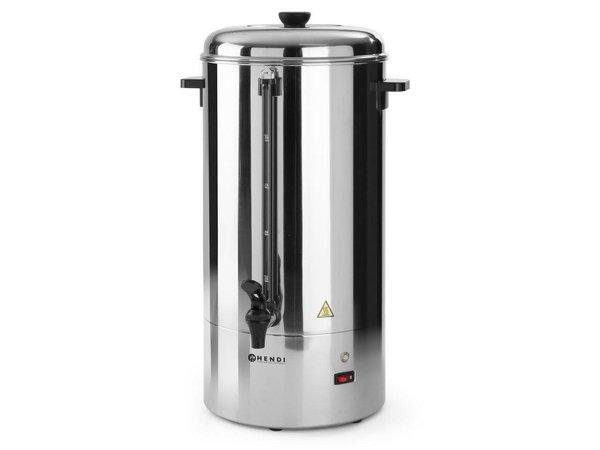 Hendi Single walled stainless steel percolator HENDI | Ø280x (H) 580mm | 100 Cups | 15 Liter