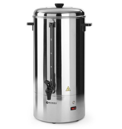 Hendi Percolator HENDI Single walled stainless steel | Ø310x (H) 465mm | 40 Cups | 6 Liter | XXL OFFER