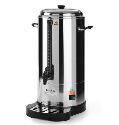 Hendi Doppelwandigen Edelstahlkanne | Mit Tasse Norm | 100 Tassen | 15 Liter | BEST getestet!