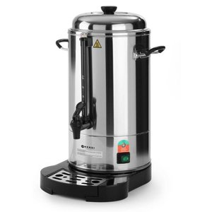 Hendi Percolator Stainless Steel Jacketed   With cup Standard   Ø241x (H) 480mm   40 Cups   6 Liter