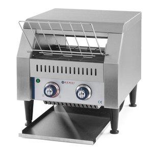 Hendi Gehen Sie durch Toaster   XXL 150 Scheiben pro Stunde - RVS - 41,8x36,8x (H) 38,7 cm - 2240W