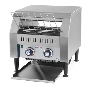 Hendi Go through toaster | XXL 150 slices per hour - RVS - 41,8x36,8x (H) 38.7 cm - 2240W