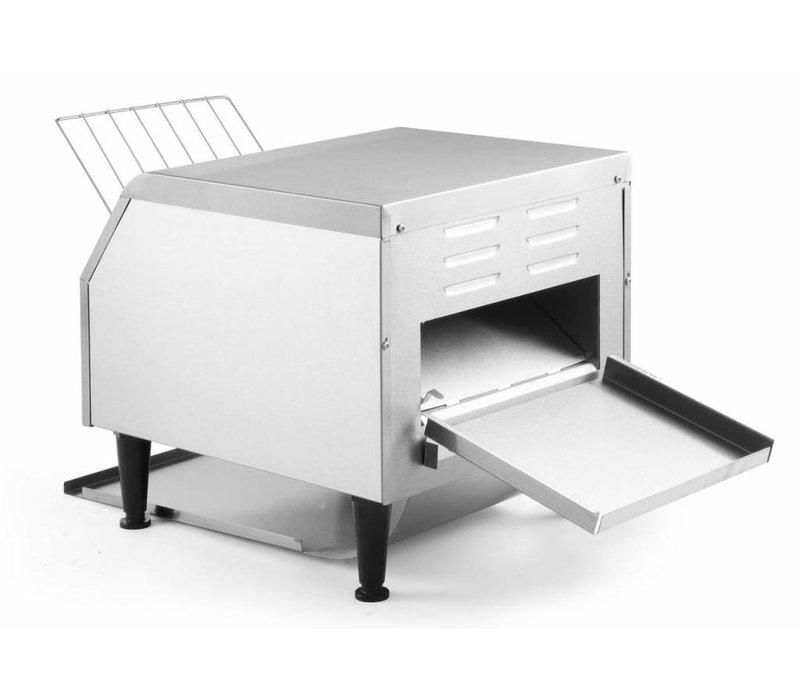 Hendi Go through toaster   XXL 150 slices per hour - RVS - 41,8x36,8x (H) 38.7 cm - 2240W