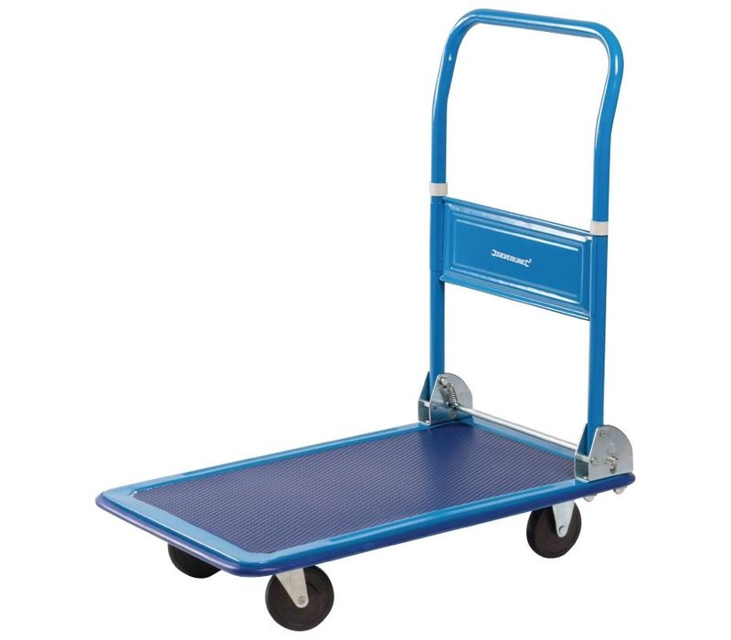 Bolero Opvouwbare Trolley / Transportwagen - Draaggewicht tot 100 Kg - 718(b)x464(d)x699(h)mm