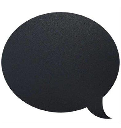 Securit Silhouette Wand Tafel Blase Inkl. Chalk Stift