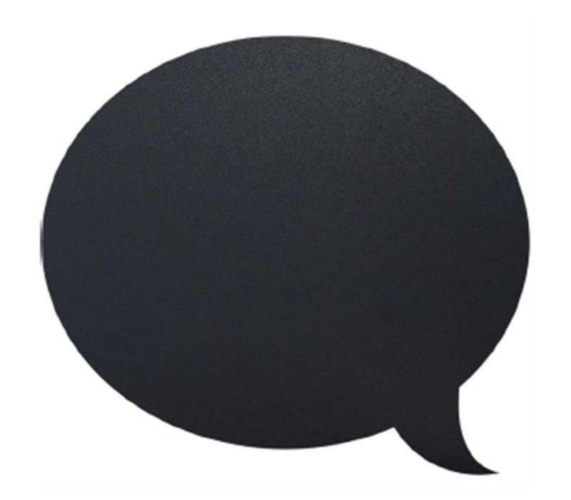 Securit Silhouette Wall Chalkboard Bubble Incl. Chalk Stift