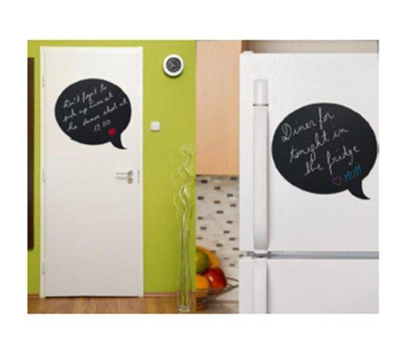 securit silhouette wand tafel blase inkl chalk stift. Black Bedroom Furniture Sets. Home Design Ideas