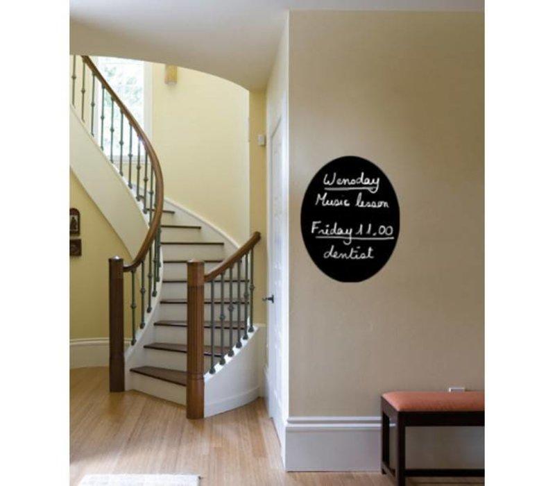 Securit Silhouette Wall Chalkboard Oval Incl. Chalk Stift