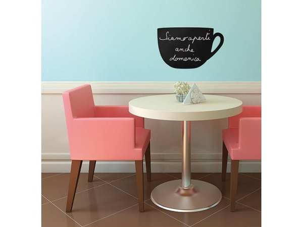 Securit Silhouette Wall Chalkboard Cup Incl. Chalk Stift