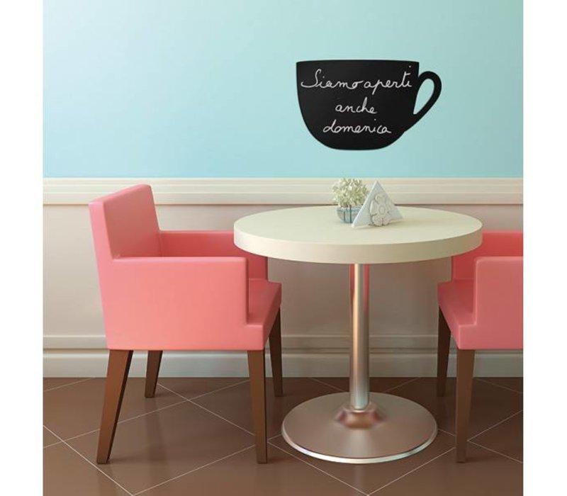 securit silhouette wand tafel cup inkl chalk stift. Black Bedroom Furniture Sets. Home Design Ideas