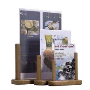 Securit Poster display table Teak - 3 sizes