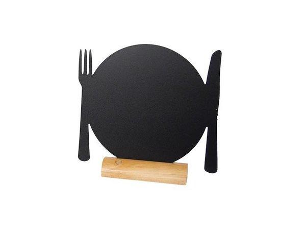 Securit Tafelkrijtbord Wood Silhouet Bord Incl. Krijtstift