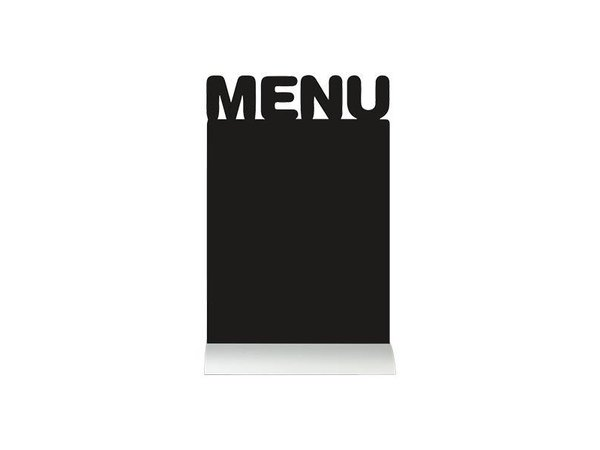 Securit Tafelkrijtbord Aluminium Silhouet Menu Incl. Krijtstift