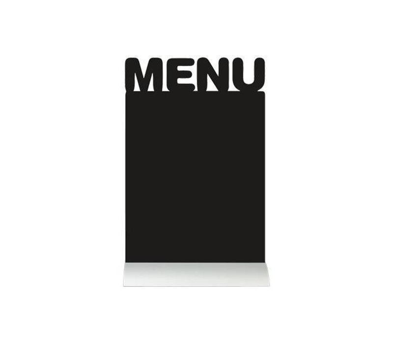 Securit Chalkboard Menu table Aluminium Silhouette Incl. Chalk Stift