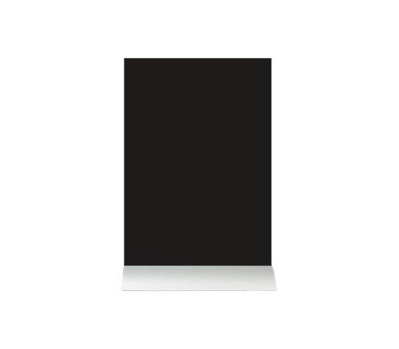 Securit Chalkboard Table Aluminium Silhouette A4 Incl. Chalk Stift