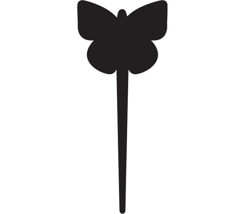 Securit Tag Silhouet Vlinder 5 x - Incl 1 Krijtstift