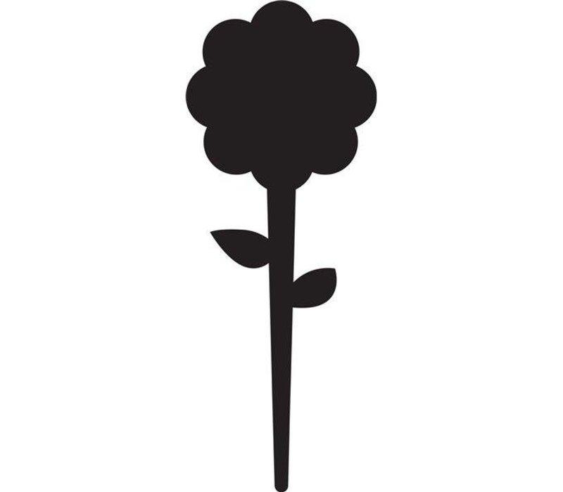 Securit Tag Silhouet Bloem 5 x - Incl 1 Krijtstift