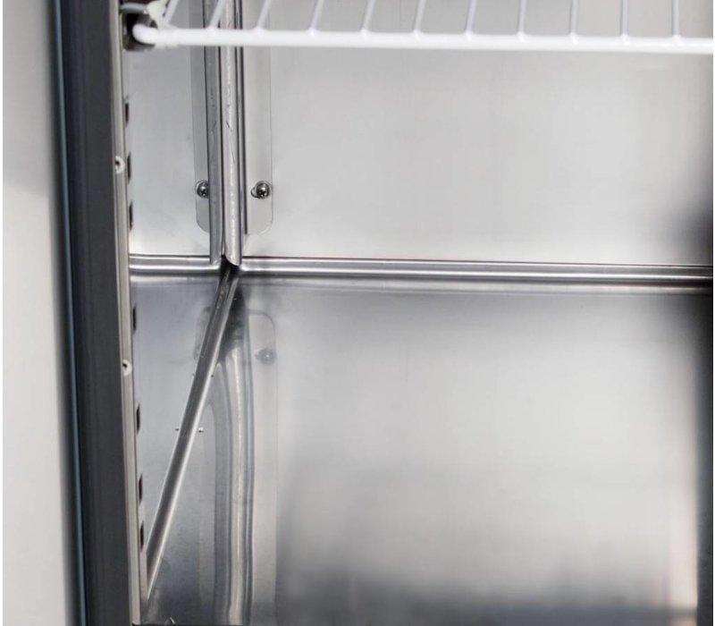 Saro Pizza Workbench L - 2-Tür 8x1 + / + 3GN Granit - Bäckerei 600x400mm - 1500mm (b)