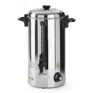 Hendi Hot drinks / Mulled wine Boiler SS   Single walled   10 liter