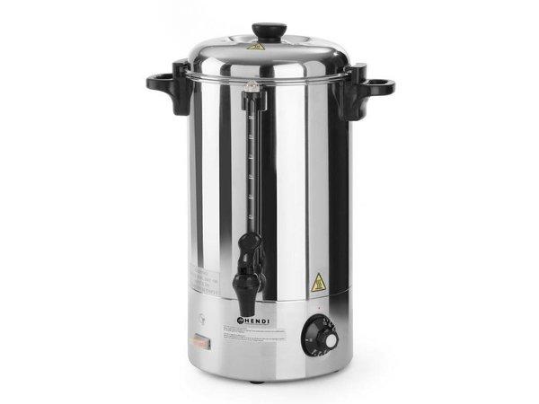 Hendi Hot drinks / Mulled wine Boiler SS | Single walled | 10 liter