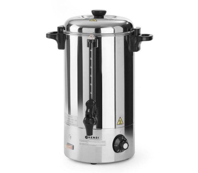 Hendi Warme dranken / Gluhwijn Ketel RVS | Enkelwandig | 10 Liter