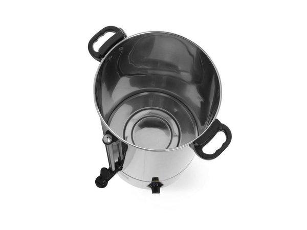 Hendi Heiße Getränke Kessel   Einwandige Edelstahl   Hahn   20 Liter