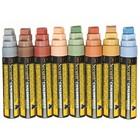 Securit Dicken Kreidemarkern XXL - 8 Stück - Erdfarben - Farbmischung - 7 / 15mm