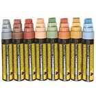 Securit Thick Chalk Markers XXL - 8 pieces - EARTH Colors - color mix - 7 / 15mm