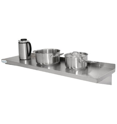 XXLselect Stainless Steel Shelf - Complete - 300mm - CHOICE OF 5 SIZES