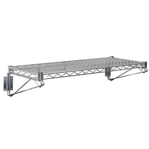 XXLselect Stainless Steel Wire Wall shelf - CHOICE OF 3 SIZES