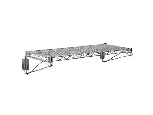 XXLselect Stainless Steel Wire Wall shelf - CHOICE OF 3 SIZES