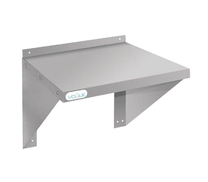 XXLselect RVS Oven / Magnetron Wandplank - KEUZE UIT 2 MATEN