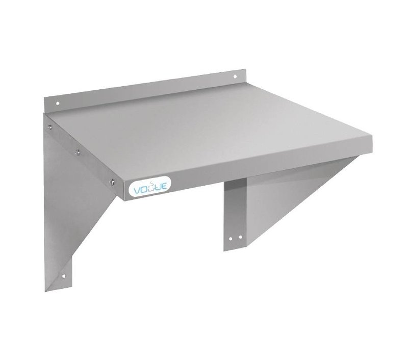 XXLselect Stainless steel Oven / Microwave Wall shelf - CHOICE OF 2 DIMENSIONS