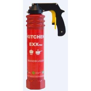 XXLselect Feuerlöscher PRO - Spray-Schaum - Brandklasse A & F - für Gaststättengewerbe