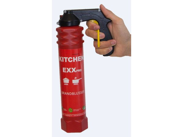 XXLselect Fire extinguisher PRO - Spray Foam - Fire Class A & F - For Professional Catering