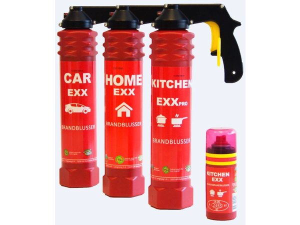 XXLselect Feuerlöscher im Auto - Spray-Schaum - Brandklasse A, B & F