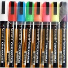 Securit Securit Thin Chalk Markers - 8 pieces - color mix - 2/6 mm