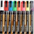 Securit Securit Thin Kreidemarkern - 8 Stück - Farbmischung - 6.2 mm