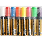 Securit Securit Thick Chalk Markers XXL - 8 pieces - color mix - 7/15 mm