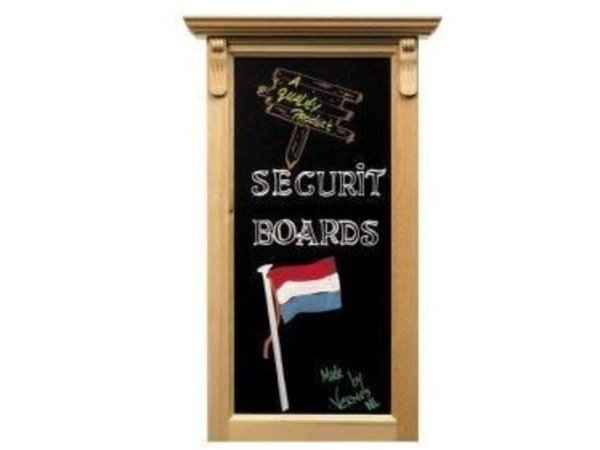 Securit Wall Sign Ornament Blank - 100x50cm