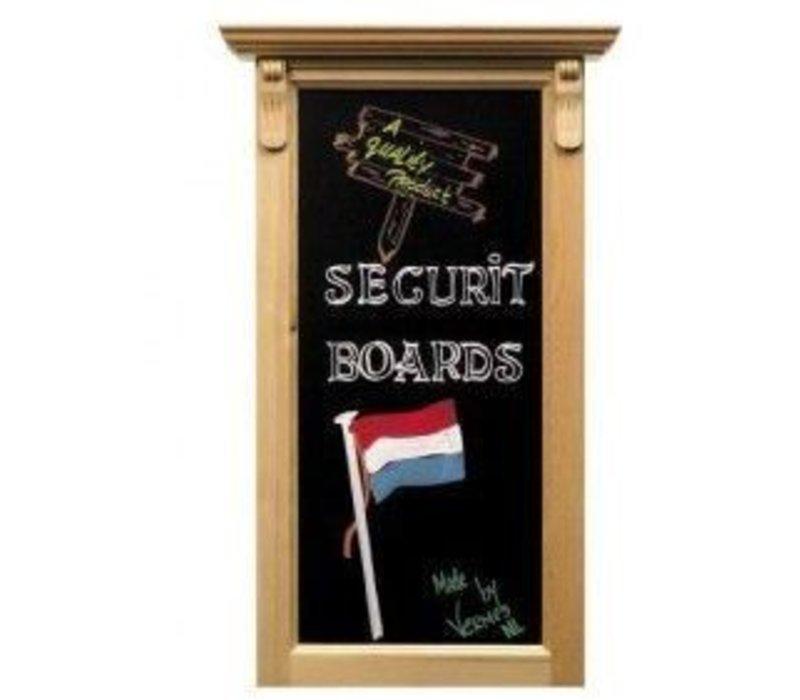Securit Wandschild Ornament Blank - 100x50cm