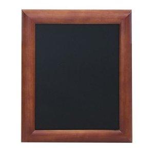 Securit Universal wall chalkboard Mahogany - 6 Sizes