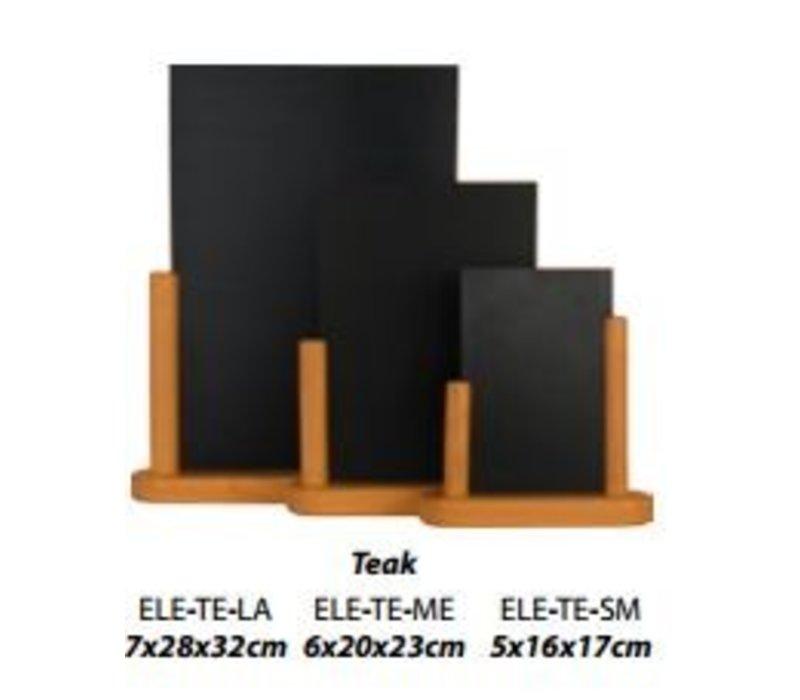 Securit Elegant table chalkboard Blank - 3 Sizes