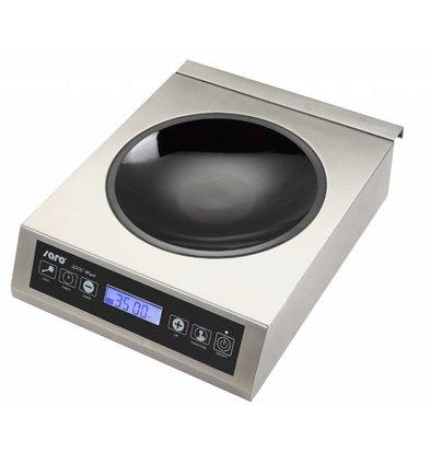 Saro Induction wok digital incl wok pan - 34x44.5x (h) 11.5 - 3500W / 230V