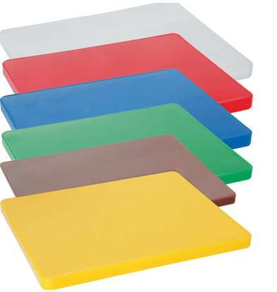 Hendi Cutting boards HACCP - 450x300x12,7mm - Without sap drain - 6 COLOURS