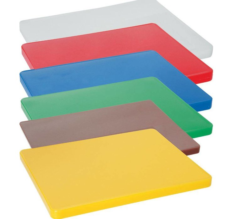 Hendi Cutting boards HACCP - 450x300x12,7mm - Without sap drain - 6 COLOURS
