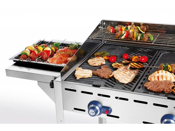 Hendi Thinline sides for HENDI Gas barbecues Green Fire
